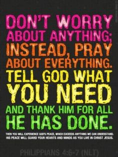 God doesnt want us to walk alone so whenever you have a problem, turn to Him and talk to Him. He will hear you. He will always help you.