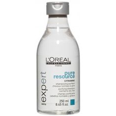 L'Oreal Professionnel L'Oreal Serie Expert Pure Resource Shampoo 250ml (1.065 RUB) ❤ liked on Polyvore featuring beauty products, haircare, hair shampoo, clear hair care and l'oréal paris