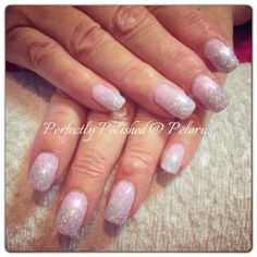 Beautiful and subtle nails for a bride #WeAreIrresistible