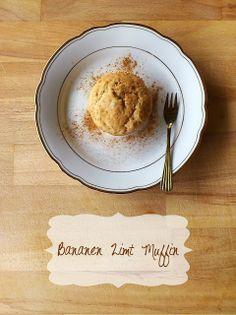 Die Glücklichmacherei: Kuchiges Glück #1: Bananen Zimt Muffins
