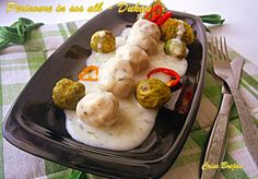 Arome si culori - Dukan: Perisoare de pui in sos alb