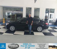 #HappyBirthday to Bill Mishkind from Jake Johnson at Fenton Honda of Longview!