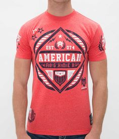 American Fighter Shirts, Fort Valley, Fight Wear, Cool Tees, Graphic Tees, Tee Shirts, Man Shop, Mens Fashion, Mens Tops