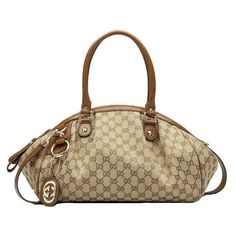 Gucci Sukey Medium Boston Bag 223974 Light Brown Outlet... #LadiesStylish #Handbags