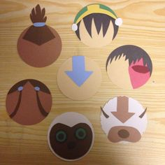 Avatar: The Last Airbender door tags (make a scroll and that's where the name goes) Ra Door Tags, Avatar Theme, Dorm Door Decorations, Ra Themes, Door Decks, Balkon Design, Looney Tunes, Powerpuff Girls, Just In Case