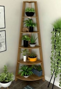 Diy Bedroom Decor, Diy Home Decor, Small Balcony Decor, House Plants Decor, Plant Shelves, Book Shelves, Home Room Design, Home Decor Furniture, Living Furniture