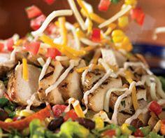 Chillis quesidilla explosion salad copycat