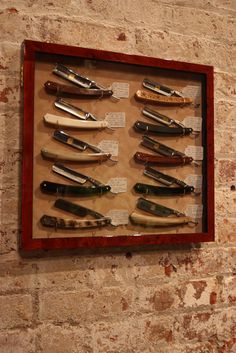 Handmade Straight Razors by Thiers-Issard Photo credit: Jason Tucker, www.thejasontucker.com hauteandthecity.com/2010/07/13/min-new-york/ Amazon mens fragrances include - Banana Republic Class Cologne,Dior's Eau Sauvage,Gendarme For Men,Escada Sentiment Cologne