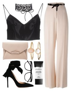 """silky"" by enhancedance ❤ liked on Polyvore featuring Alexander Wang, STELLA McCARTNEY, Gianvito Rossi, Givenchy, Smashbox, Accessorize, H&M and Étoile Isabel Marant"