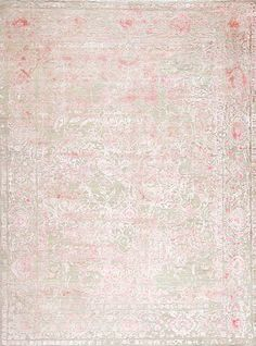 Epic - Epic Reserve Wool & Silk Valiant - Samad - Hand Made Carpets Rugs On Carpet, Carpets, Transitional Rugs, Home Rugs, Hand Spinning, Living Room Furniture, Shag Rug, Pink Rugs, Texture