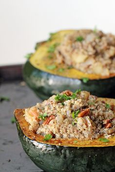 For the Love of Food: (Gluten-Free) Quinoa Pecan Stuffing with Mushrooms