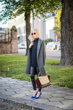 OUTFIT: GREY AND BLACK   STYLE PLAZA