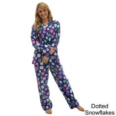 Del Rossa Women's Flannel Pajama Set - Overstock™ Shopping - Top Rated Alexander Del Rossa Pajamas & Robes