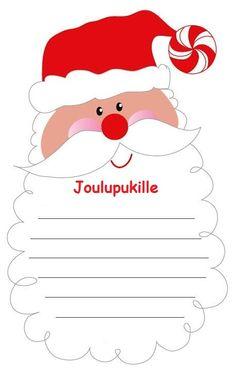 20 Free Printable Letters to Santa Childrens Christmas, Preschool Christmas, Christmas Activities, Christmas Crafts For Kids, Christmas Projects, Winter Christmas, Christmas Themes, Xmas Crafts, Christmas Holidays