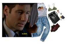 """""""Aliens."""" by waterflower ❤ liked on Polyvore featuring Chloe Stanyon, Wood Wood, Westinghouse and H&M"""