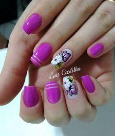 Floral Nail Art, Pink Nail Art, Toe Designs, Nail Art Designs, Spring Nails, Summer Nails, Fun Nails, Pretty Nails, Fingernail Designs