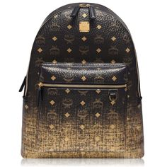 Add this spectacular MCM Stark Grad Backpack to your collection. Designed with a vibrant look, presenting the iconic MCM logo all over. This piece has two compartments, and is constructed with a full leather canvas. Mens Designer Accessories, Leather Accessories, Mcm Clothing, Small Wallet, Zip Around Wallet, Armani Logo, Vanity Bag, Monogram Backpack, Men's Fashion Brands