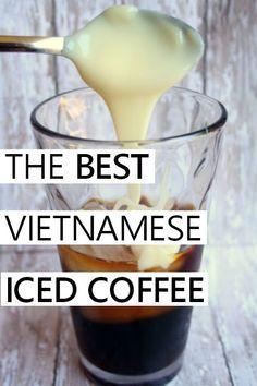the best vietnamese iced coffee recipe Thai Iced Coffee, Homemade Iced Coffee, Cold Brew Coffee Recipe, Best Iced Coffee, Iced Coffee At Home, Making Cold Brew Coffee, Coffee Drink Recipes, Keurig Recipes, Coffee Drinks