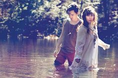 Corin Roddick and Megan James make up the electronic duo Purity Ring. - COURTESY PHOTO