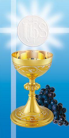 Dekoracja na I Komunia Świeta - Dekoracja kościoła, banery religijne, plakaty religijne, obrazy, obrazki, zakładki, chusty,