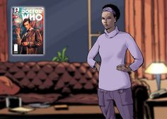 Alice Obifune from Doctor Who: The Eleventh Doctor #1