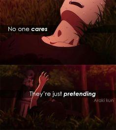 ~ Re:Zero Anime Qoutes, Manga Quotes, Dark Quotes, Me Quotes, Love Story Quotes, Just Pretend, Depression Quotes, Sad Anime, Re Zero