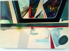 "Saatchi Art Artist Louise Marchal; Painting, ""space bar"" #art"