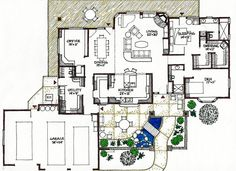 passive house plans on sloped handicapped accessible - Buscar con Google