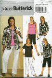 Butterick Sewing Pattern B4819 Size RR (18W-20W-22W-24W) Women's Shirt, Tops, Shorts and Pants - http://sewingpins.net/sewing/sewing-patterns/butterick-sewing-pattern-b4819-size-rr-18w-20w-22w-24w-womens-shirt-tops-shorts-and-pants/