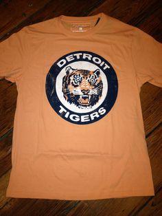 Monkeys UncleRetro Baseball · Men s retro Detroit Tigers tee Detroit  Tigers d7858ca78