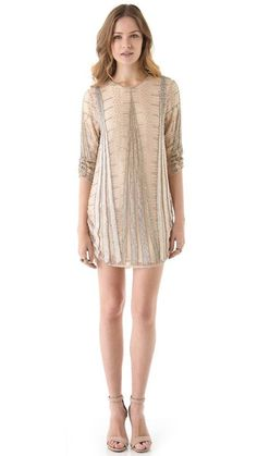 Parker Embellished Art Deco Dress