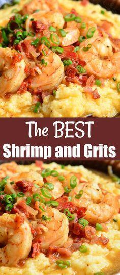 Shrimp And Spinach Recipes, Shrimp Recipes Easy, Easy Dinner Recipes, Seafood Recipes, Beef Recipes, Chicken Recipes, Dinner Ideas, Healthy Chicken, Appetizer Recipes