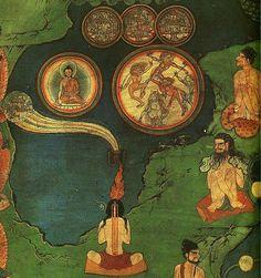Dalai Lama's Secret Temple, Tantric Wall Paintings from Tibet, Ian Baker, Thomas Laird. Tibetan Art, Tibetan Buddhism, Buddhist Meditation, Buddhist Art, Yantra Yoga, Tantra Art, Sacred Art, Religious Art, Buddha
