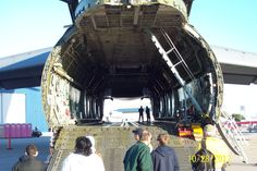 Tanks can fit in there!  C-5 Galaxy