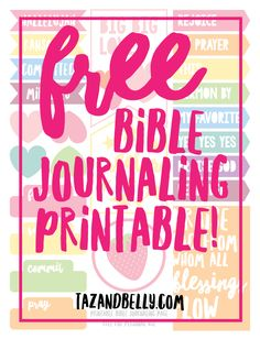 Gods Masterpiece Bible Journaling Template