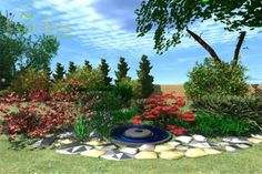 The concept of the garden in Drogoradz