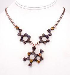 Theobromine active molecule from chocolate. Bead Origami.