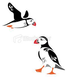 puffins in art - Google Search