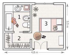 Plano:+con+vestidor+y+baño                                                                                                                                                                                 Más