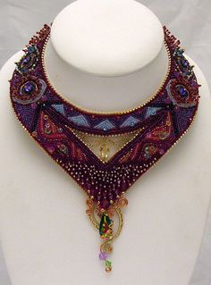 Ariadne's thread  Swarovski Beaded Necklace von LaurenElise auf Etsy, $950.00