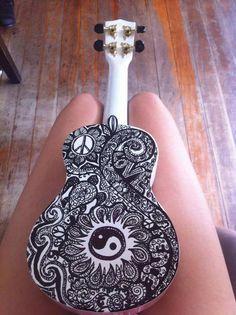 mandala ukulele - Google Search
