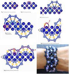 Четыре схемы браслетов / Браслеты / Biserok.org
