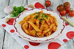 Tocanita de dovlecei si rosii - CAIETUL CU RETETE Penne, Enchiladas, Vegan, Chicken, Vegetables, Food, Veggie Food, Vegetable Recipes, Meals