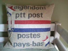 PTT Postzak kussen