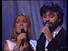 The Prayer ~ Celine Dion & Andrea Bocelli ღ One of my FAVE songs! LOVE THEM BOTH...they give me chills when they sing!