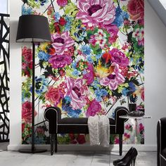 Shop Provincial Wallcoverings  4-749 Romantic Pop Floral Mural at Lowe's Canada. Find our selection of wallpaper & wallpaper supplies at the lowest price guaranteed with price match + 10% off.