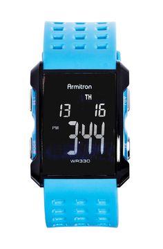 Armitron wr330 bright on time -- digital watch