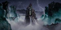"Consulta mi proyecto @Behance: ""Castle Night Storm"" https://www.behance.net/gallery/45394913/Castle-Night-Storm"