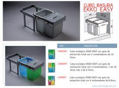 Reformas Guaita: Otra solución para el cubo de basura en la cocina