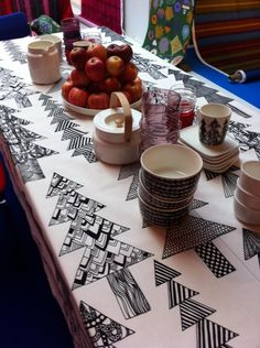 Marimekko #holiday #table